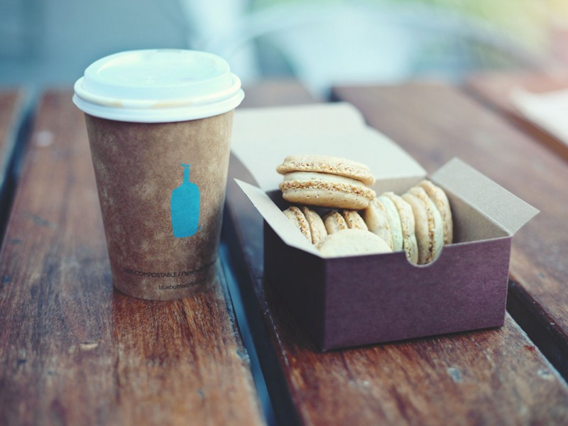 Coffee and biscuits